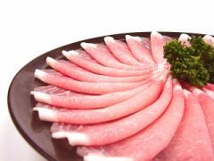 九州産○豚ロース すき焼き、しゃぶしゃぶ用[100g]★ビタミン豊富!☆あったか鍋の旨い季節♪