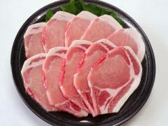 九州産○豚ロース<生姜焼き・ソテー用>[10枚入・約500g]