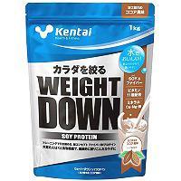 ウエイトダウン ソイプロテイン ココア風味 1kg 【Kentai(ケンタイ)/健康体力研究所】
