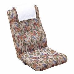 【代金引換不可】腰の楽なレバー式リクライニング座椅子