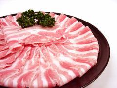 九州産○豚ばら肉 すき焼き・しゃぶしゃぶ用[100g]★ビタミン豊富!あったか鍋が旨い季節♪