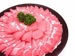 九州産○豚肩ロース・すき焼き、しゃぶしゃぶ用[100g]★ビタミン豊富!☆あったか鍋の旨い季節♪