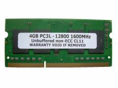 SODIMM 4GB PC3L-12800 DDR3L 1600 204pin CL11 低電圧1.35V対応 PCメモリー  「メール便可」