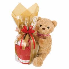抱きつき クマ ブーケ スタンド テディベア 送料無料 クリスマス