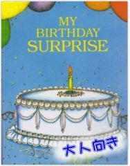 オーダーメイドの手作り絵本 びっくり誕生日(大人向き) メール便発送可 誕生日 友達 サプライズ 絵本