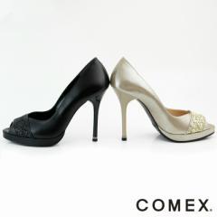 SF1404-005/【送料無料】COMEX【コメックス】5522【ヒール11cm】/オープントゥパンプス ハイヒール ピンヒール