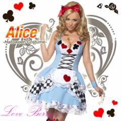 ハロウィン Halloween コスプレ 仮装 アリス スカート プリンセス 2点セット