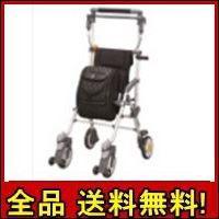 【送料無料!ポイント2%】キャリースルーンXL 軽量・安定のシルバーカー!