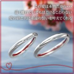 ペアリング 2本セット シンプル お揃い シルバー LOVE of DESTINY 運命の愛 LOD-027P