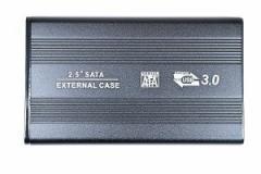USB3.0対応 2.5インチ ハードディスク・SSD HDDケース SATA-USB3.0 ブラック 「メール便可」