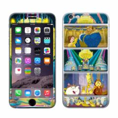 iPhone6 iPhone6s 【Disney(ディズニー)xGizmobies(ギズモビーズ)】 「Beauty And The Beast」 プロテクター カバー ベル ラメ