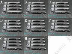 BRIGHTZ プリウスα ZVW40W メッキドアハンドルカバー ノブ フルカバータイプ PRIUS30−NOBU−FS