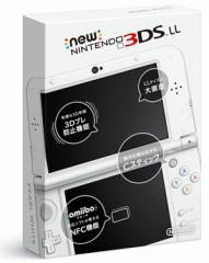 【即納可能】【新品】Newニンテンドー3DS LL本体 パールホワイト【送料無料】