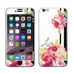 iPhone6/iPhone6S 対応 【GizmobiesxDressCamp(ドレスキャンプ)】 「Rose Line」 背面保護 プロテクター (gizmo6-71510)