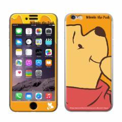 iPhone6/iPhone6S 対応 Gizmobies(ギズモビーズ)×Disney(ディズニー) 「Pooh the face」 プーさん プロテクター (gizmo6-71503)