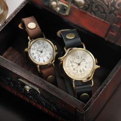 ペアウォッチ セット 時計 刻印無料 セイコー製クォーツムーブメント革 レザー Yunlong ユンロン