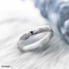 リング 指輪 シルバー レディース 女性 友達 送料無料 ディズニー キャラクター アナと雪の女王 エルサ whiteclover-anayuki-1-単品