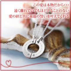 ペアネックレス 2本セット カップル お揃い 送料無料 人気ブランド LOVE of DESTINY 運命の愛 lod-012