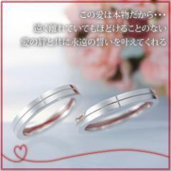 ペアリング 2本セット シンプル お揃い シルバー LOVE of DESTINY 運命の愛lod-004p