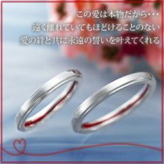 ペアリング 2本セット シンプル お揃い シルバー LOVE of DESTINY 運命の愛 LOD-026P