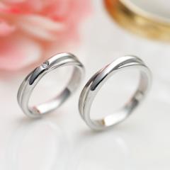 ステンレスペアリング fe-208-209 ステンレス fe-fe ルビー サファイア 刻印対応 指輪 結婚指輪 マリッジリング ステンレススチール 金属
