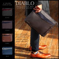 クラッチバッグ メンズ ショルダーバッグ バイカラー バッグ 鞄 セカンドバッグ かばん 2WAY DIABLO ディアブロ【KA-2500】