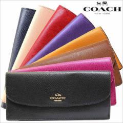 あす着 コーチ COACH 財布 クロスグレイン レザー 長財布 サドル アウトレット ブランド レディース f52689 big_brand