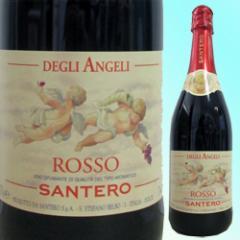【イタリア スパークリングワイン】天使のロッソ(赤 甘口)750ml  ☆イタリアの ルネサンス 天使が舞うラベル