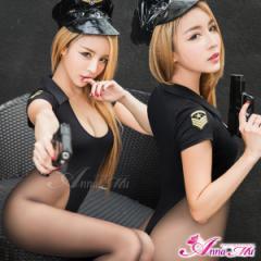 ハロウィン コスプレ ポリス コスプレ衣装 セクシー 制服 コスチューム 仮装 警察 警官 大きいサイズ 団体