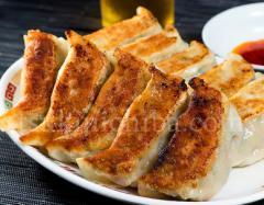 来々軒特製『生餃子』15個入(1パック 約600g) ラー油付き ※冷凍【同梱不可】☆