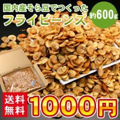 送料無料 空豆 国産 フライビーンズ 約600g おつまみ ソラマメ そらまめ メール便 1000円ぽっきり