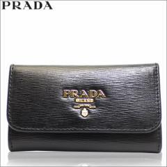 プラダ PRADA キーケース 6連 ブラック 1pg222-vimo-nero アウトレット 新品