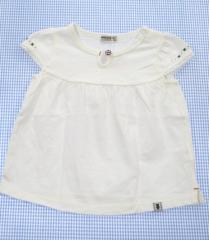 01824a2ba5479 ミキハウス MIKIHOUSE FIRST チュニック 半袖 白 80cm 女の子 ベビー 子供服