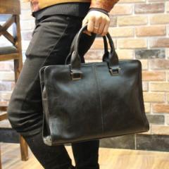 ビジネスバッグ メンズ ブリーフケース ビジネス鞄 横型 ショルダー付き 面接 就職 通勤 大容量 出張 スーツケース