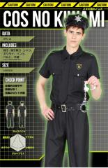 ハロウィン コスプレ 衣装 安い メンズ 男性用 仮装 警察官 警官 制服 コスチューム 帽子 手錠セット コスの極み ポリス