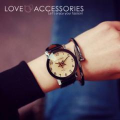 秒針が星形なおしゃれなレディースファッションウォッチ 腕時計 レディース 時計