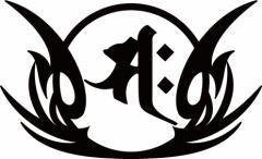 カッティングステッカー 車 バイク ヘルメット カッコイイ カスタム【サク/勢至菩薩/午 (うま) 干支梵字 ・8-1】【メール便】