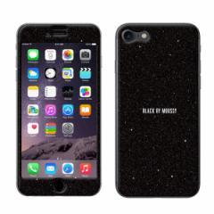 iPhone7 【BLACKBYMOUSSY(ブラックバイマウジー)xGizmobies(ギズモビーズ)】 「BLACK」 プロテクター カバー ラメ