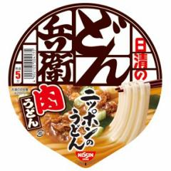 【6240円以上で景品ゲット】 日清食品 どん兵衛 肉うどん ( 12食入 )