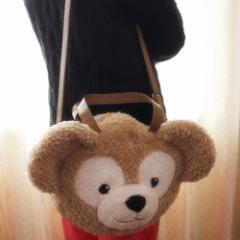 ダッフィー【ディズニーシー限定】Duffy ダッフィー バック トートバッグ ショルダーバック♪ お顔厳選♪ ディズニー