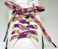 メール便 和柄靴ひも 柄多数ちりめん靴紐ノーマル おしゃれなメンズレディーススニーカーくつひも クツヒモ 日本製シューレース(色286)