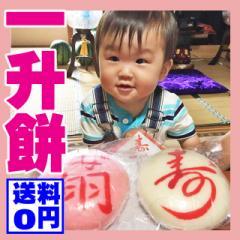 一升餅 名入れ 送料無料 風呂敷 紅白 (約900g×2)小分けカット済みの真空パック 1歳 誕生日 背負い餅