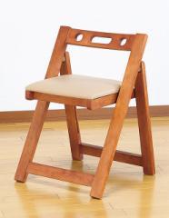 椅子 いす 折りたたみ チェア 天然木 完成品 木製 コンパクト 隙間収納