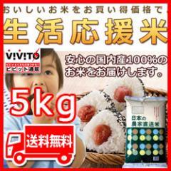 [ 送料無料 ]  訳あり米 日本の農家直送米 5kg アウトレット 米 白米 国内産 ブレンド米 5kg