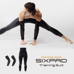 【新発売】シックスパッド トレーニングスーツ アーム&ハイウエストタイツセット sixpad 着圧 トレーニングウェア インナー