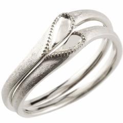 結婚指輪  安い ペアリング プラチナ マリッジリング ハート シンプル つや消し pt900 ストレート スイートペアリィー カップル  送料無