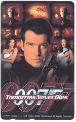 【テレカ】007 Tomorrow Never Dies ポイント購入可 カード決済不可 ※送料無料対象外商品※