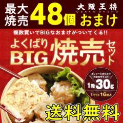 【送料無料】 最大48個オマケ! 大阪王将よくばりBIG焼売セット (しゅうまい/惣菜/冷凍食品/中華/福袋)