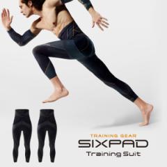 【新発売 シックスパッド トレーニングスーツ ツインハイウエストタイツセット sixpad 着圧 ハムストリング ヒップ トレーニングウェア