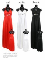 【Tikaティカ】ビジュー×ビーズデザインメッシュぺプラムタイトロングドレス大きいサイズ有[S/M/L/2L/3L][黒/白/赤]